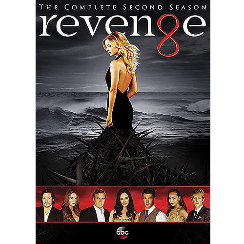 Revenge: The Complete Second Season [5 Discs] [DVD]