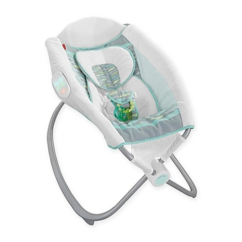 Fisher-Price Deluxe Newborn Auto Rock 'n Play Sleeper in Soothing River