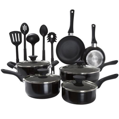 15-Piece Nonstick Cookware Set