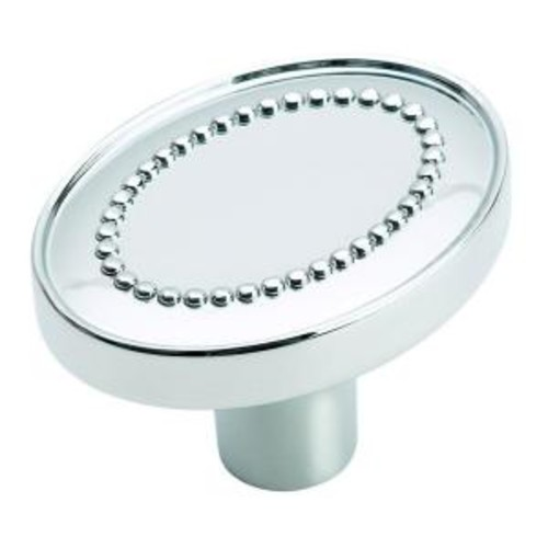 Amerock Opulence 1-3/8 in. Polished Chrome Cabinet Knob