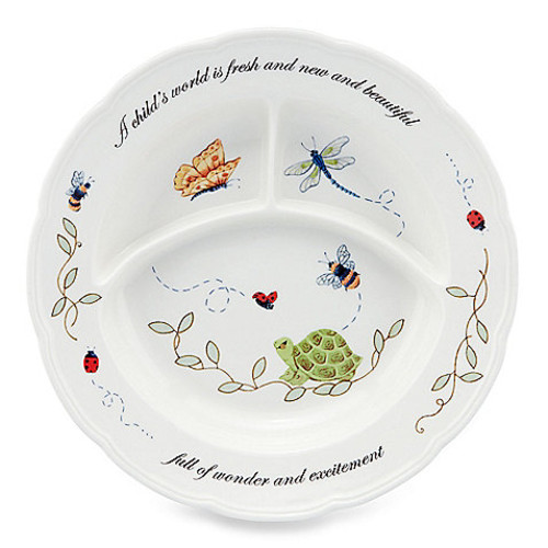 Lenox Butterfly Meadow Baby Divided Dish