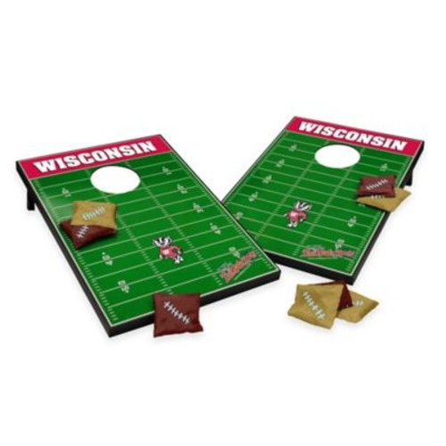 NCAA University of Wisconsin Field Tailgate Toss Cornhole Game