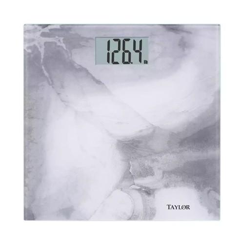 Taylor - Digital Bathroom Scale - Gray marble