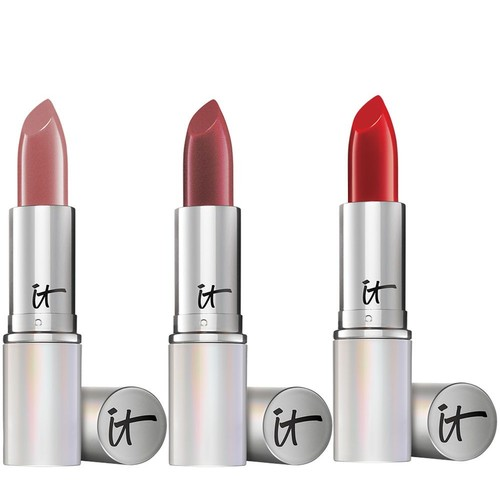 IT Cosmetics Blurred Lines Smooth Fill Must-Haves Lipstick Trio