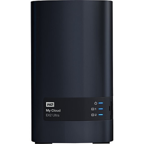 WDBVBZ0080JCH-NESN WD 8TB My Cloud EX2 Ultra Network Attached Storage - NAS - WDBVBZ0080JCH-NESN