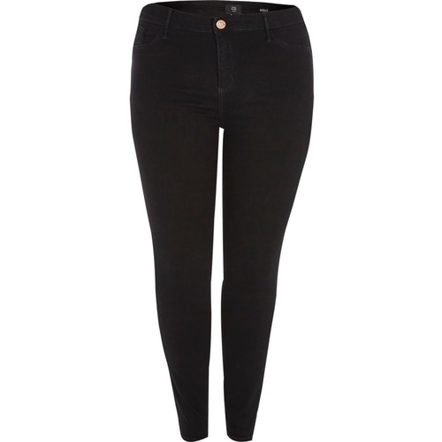 Plus black Molly jeggings