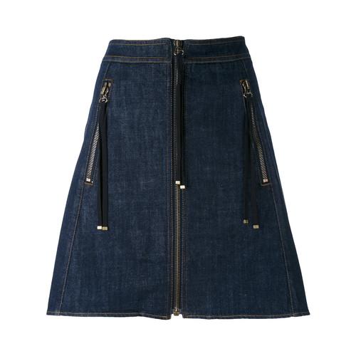 KENZO Zip A-Line Skirt