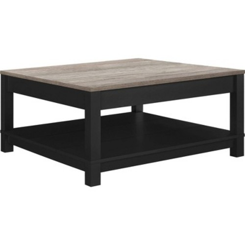 Carver Coffee Table - Black/Sonoma Oak - Altra