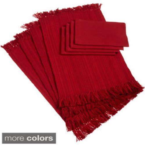 100-percent Cotton Two-tone Placemats