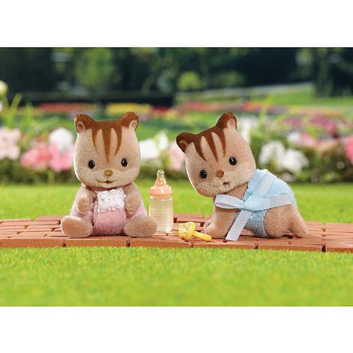 Calico Critters Hazlenut Chipmunk Twins