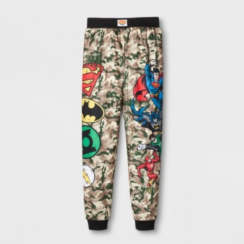 Toddler Boys' Justice League Pajama Pants - Camouflage