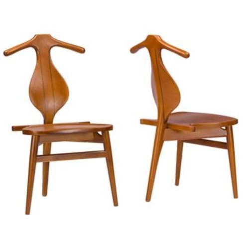 Baxton Studio Granard Dining Chairs (Set of 2)