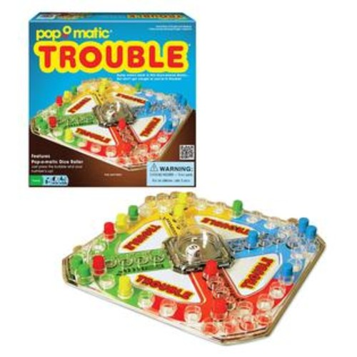 Winning Moves Games Trouble Classic Game