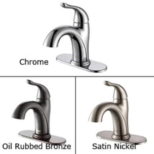 Sir Faucet 701 Single Handle Bathroom Faucet [option : Brushed Nickel]