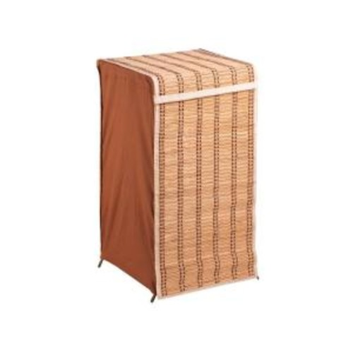 Honey-Can-Do Tall Bamboo Laundry Hamper with Lid