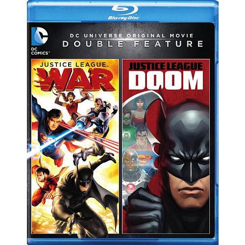 DC Universe Justice League: Doom/War Blu-Ray