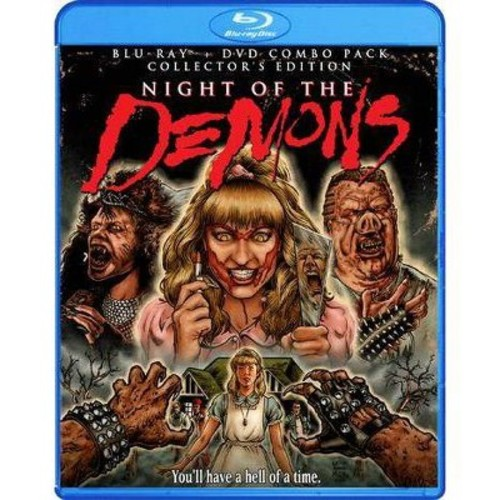Night of the Demons [2 Discs] [DVD/Blu-ray]
