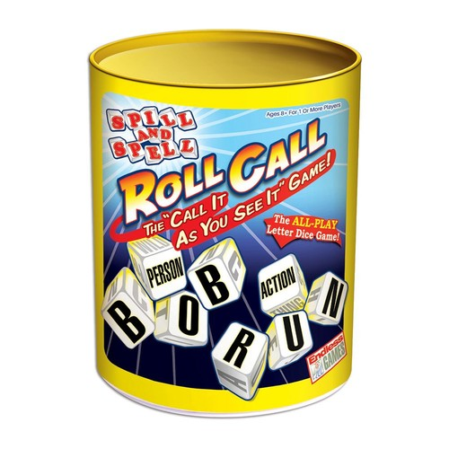 Spill And Spell Roll Call Board Game
