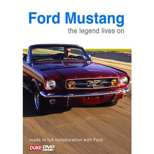Ford Mustang: The Legend Lives On [DVD] [2004]