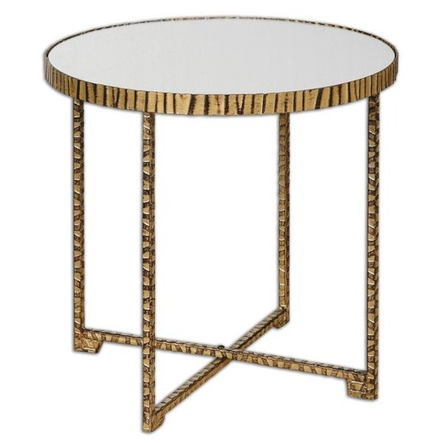Uttermost Coffee, Console, Sofa & End Tables Myeshia Round Accent Table