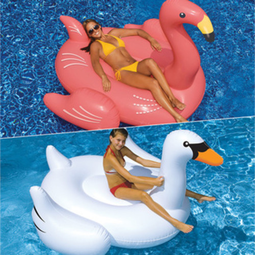 Swimline WildThings Lounge and Tube 2-Pack for Swimming Pools
