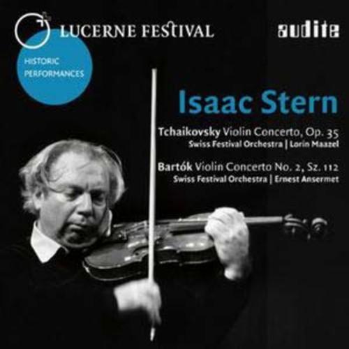 Tchaikovsky: Violin Concerto, Op. 35; Bartk: Violin Concerto No. 2 By Isaac Stern (Audio CD)