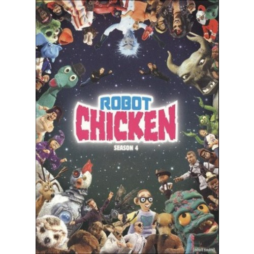 Robot Chicken: Season 4 [2 Discs] [DVD]