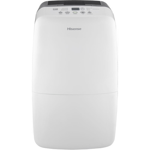 Hisense 50 Pint Dehumidifier with Built-in 1200W Heater, Electronic Controls