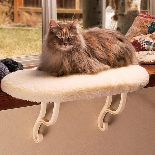 K&H Manufacturing Kitty Sill [Faux Fleece]