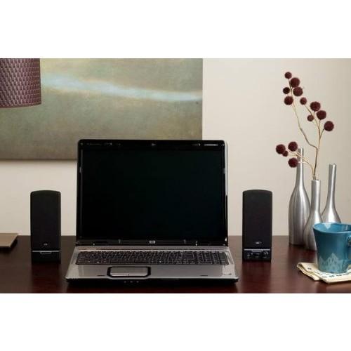 Cyber Acoustics CA-2014 multimedia desktop computer speakers [CA-2014RB]