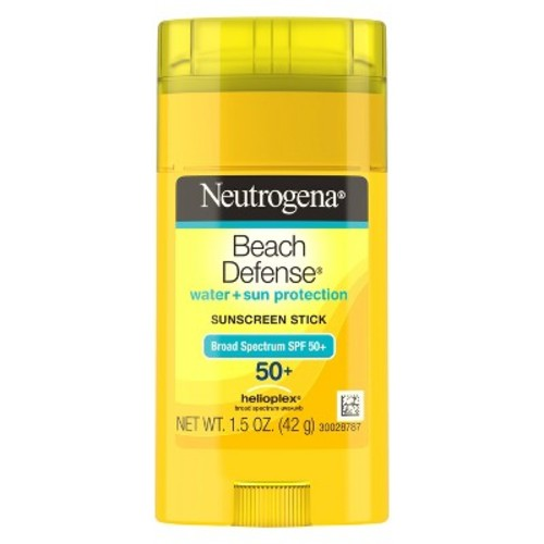 Neutrogena Beach Defense Sunscreen Stick SPF 50, 1.5 Oz