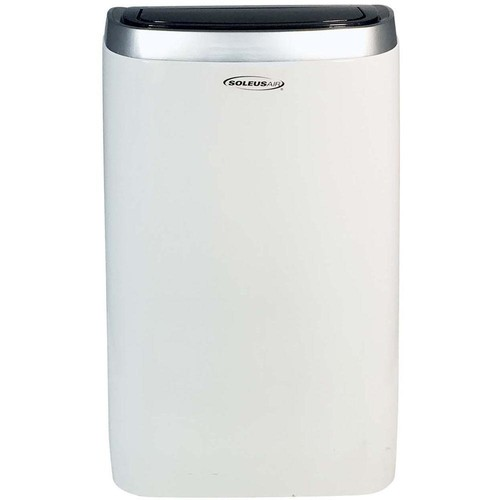 Soleus Air 14,000 BTU Portable Air Conditioner with Heat, Dehumidifier and Remote in White
