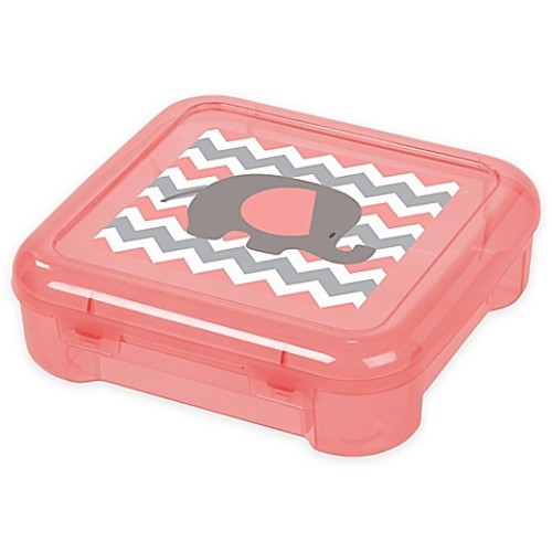 IRIS 6-Inch Portable Project Case in Coral (Set of 8)