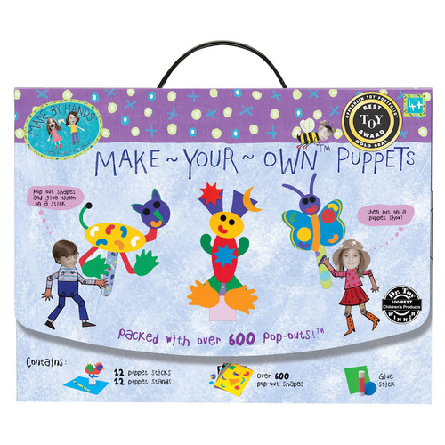 Make Your Own Puppets - Made By Hands DIY Puppet Making
