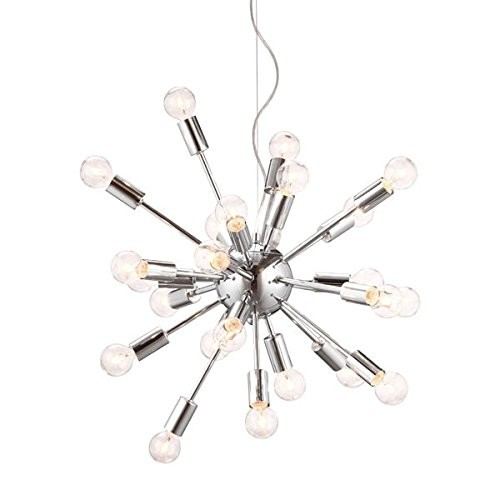 Zuo Pulsar Ceiling Lamp Chrome
