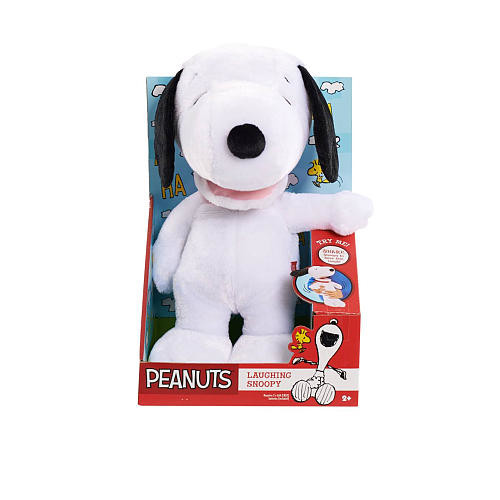Peanuts Laughing Snoopy Plush