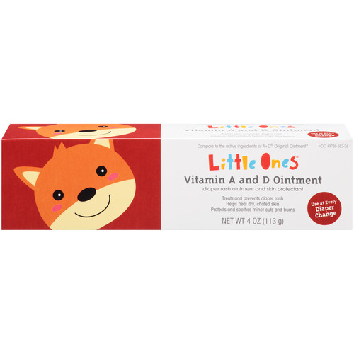Little Ones Vitamin A & D Diaper Rash Ointment u0026 Skin Protectant