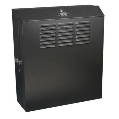 Tripp Lite SmartRack 5U Low-Profile Vertical-Mount Switch-Depth Wall-Mount Rack Enclosure Cabinet