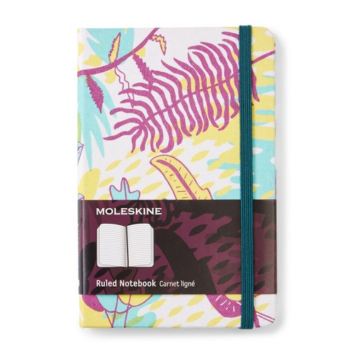 Multicolor Jungle Ruled Notebook