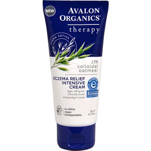 Avalon Organics Therapy Eczema Relief Intensive Cream -- 3 fl oz