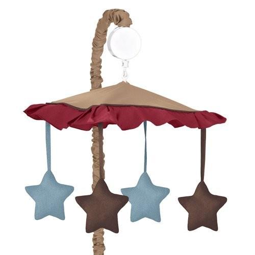 Sweet Jojo Designs All Star Sports Musical Baby Crib Mobile