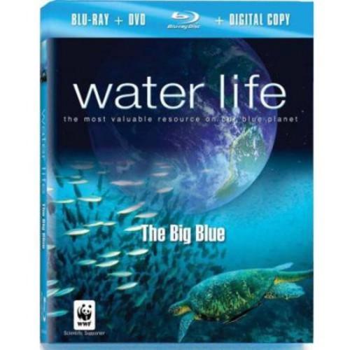 Water Life: The Big Blue [Blu-Ray] [DVD] [Digital Copy]