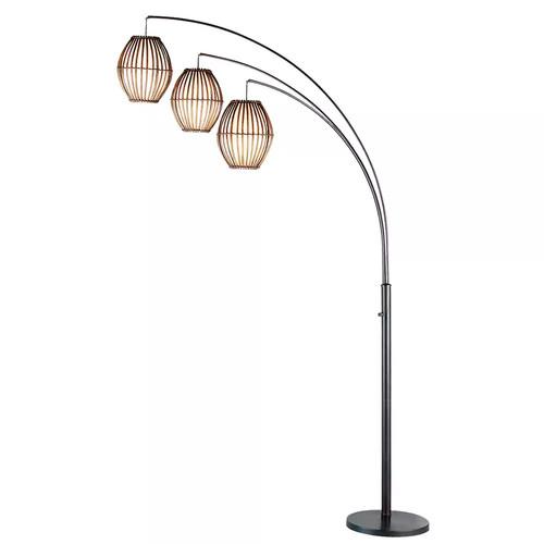 Adesso Maui Arc Floor Lamp