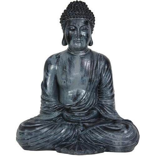 Handmade Japanese 12-inch Sitting Gautama Buddha Statue (China)