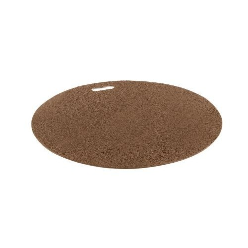 The Original Grill Pad Brown Grill Pad, Round [Brown]