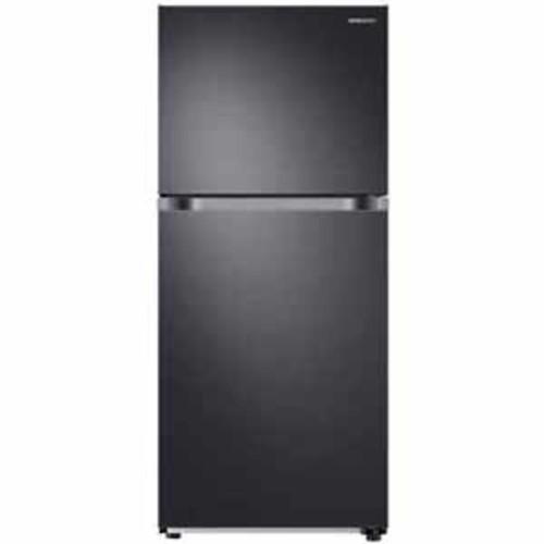 Samsung 18 cu. ft. Top Freezer Refrigerator with FlexZone - Black Stainless Steel