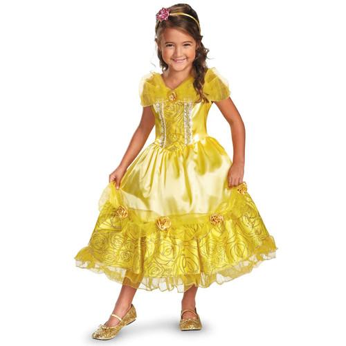 Disney Princess Belle Deluxe Sparkle Costume - Toddler/Kids