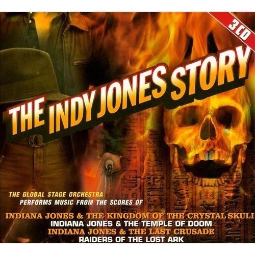 The Indy Jones Story: Original Soundtrack [CD]