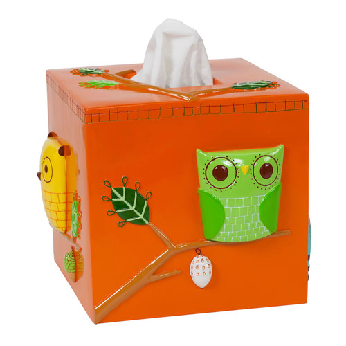 Give a Hoot Tissue Holder