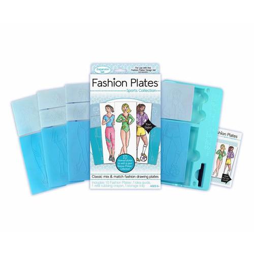 Kahootz, LLC Fashion Plates Expansion Packs Sports